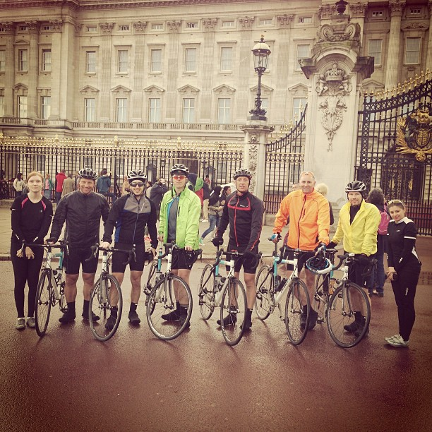 teamstrawb at Buckingham Palace